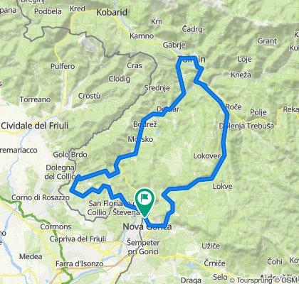 2020 0609 02 Solkan - Osimo - Goriška brda