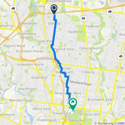 110 Bindi Street, Glenroy to 48 Poplar Road, Parkville