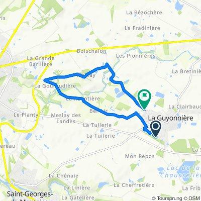 Steady ride in La Guyonnière
