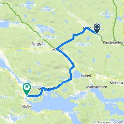 Långbro Byväg, Trönödal to Innantjära 1203, Kilafors