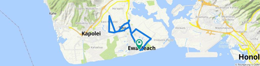 Aikanaka Road 91-829, Ewa Beach to Aikanaka Road 91-817, Ewa Beach
