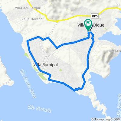 Supersonic route in Calamuchita