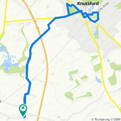 Easy ride in Knutsford