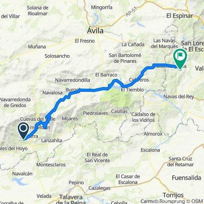 Día 2: Arenas de San Pedro a Robledo