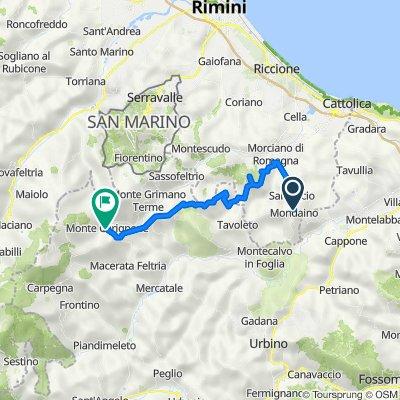 Mondaino-Montefiore Conca-Montecerignone