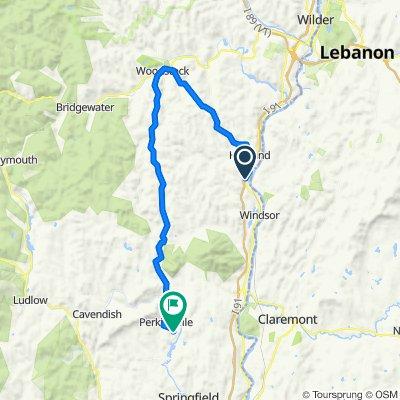long way home from van drop