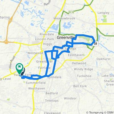 Steady ride in Greenville
