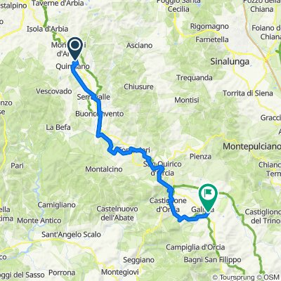 ViaFrancigena-Tp2 -Lucignano-GallinadiCastglioneOrcia
