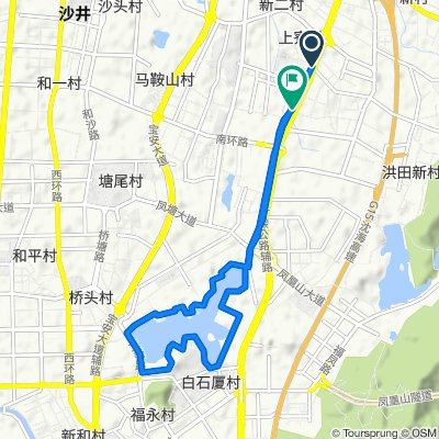 Restful route in 深圳市