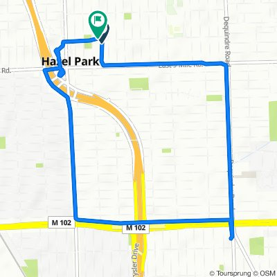 Moderate route in Hazel Park