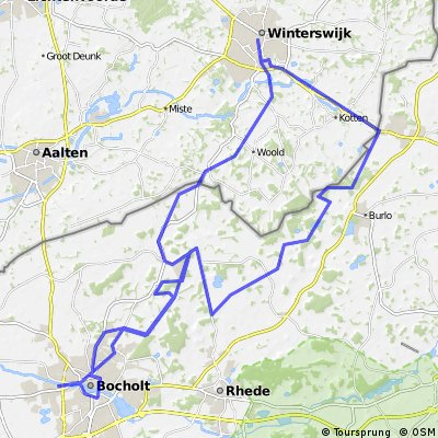 29 Bocholt Winterswijk Oeding Bocholt CLONED FROM ROUTE 42522
