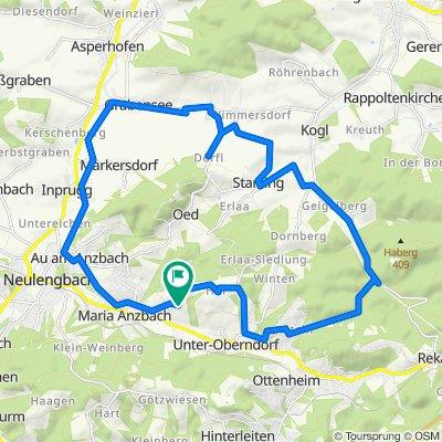 Dörflrunde 310hm, 26 km