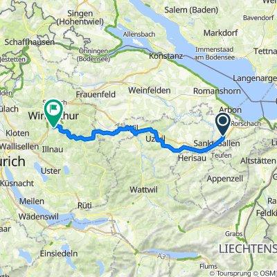 St.Gallen - Winterthur