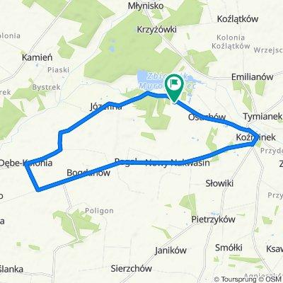 Szybka trasa w Koźminek