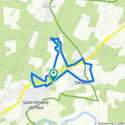 footing De Impasse du Moulin 35, Saint-Vincent-de-Paul à Chemin de Dos 650, Saint-Vincent-de-Paul