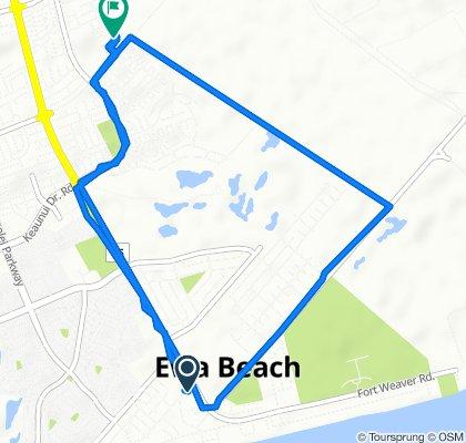 Aikanaka Road 91-829, Ewa Beach to Laulauna Street 91-1026, Ewa Beach