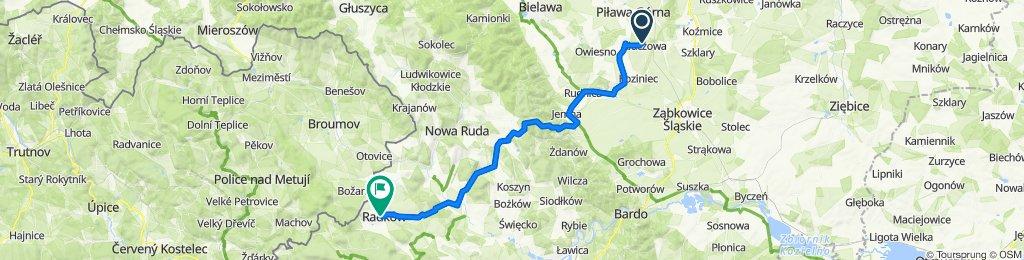 13A, Kluczowa do Grunwaldzka 23, Radków