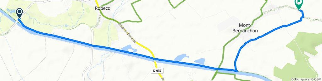 Restful route in Mont-Bernanchon