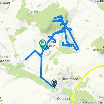 De 213–389 Route de Villers, Coudun à 19 Rue Saint-Jean, Villers-sur-Coudun
