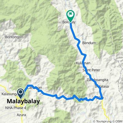 Claro M. Recto Street, Malaybalay to Unnamed Road, Malaybalay
