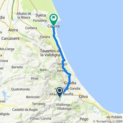 De Carrer de l'Ermita 12, Ador a Carrer Sant Jaume 5, Cullera