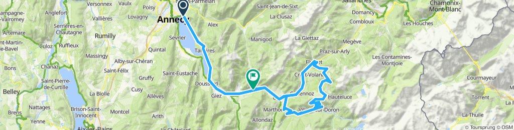 Annecy'10 - Tour3: Saisies + Forclaz-Queige