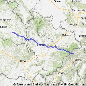 2003/06/22 - TOUR DE TATRY - 2.etapa: Cerekvice nad Loučnou - Vysoká nad Kysucou