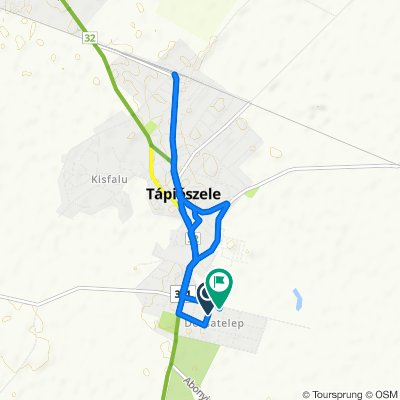 Moderate route in Tápiószele