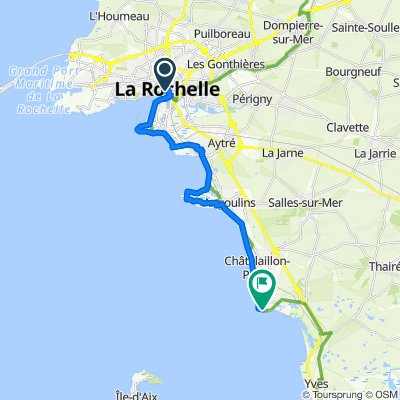 La Rochelle Côte sud