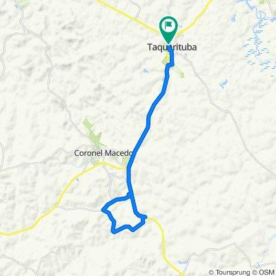 De Rua São Benedito, 520–620, Taquarituba a Rua São Benedito, 520–620, Taquarituba