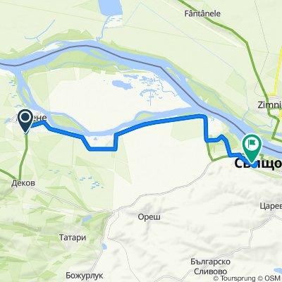 High-speed route in Svishtov