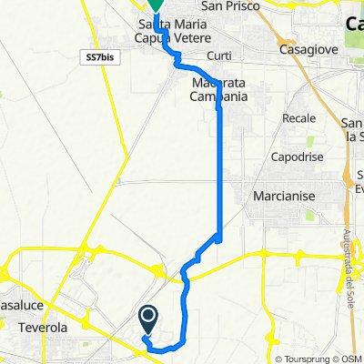 Route to Traversa III Galatina 3, Santa Maria Capua Vetere