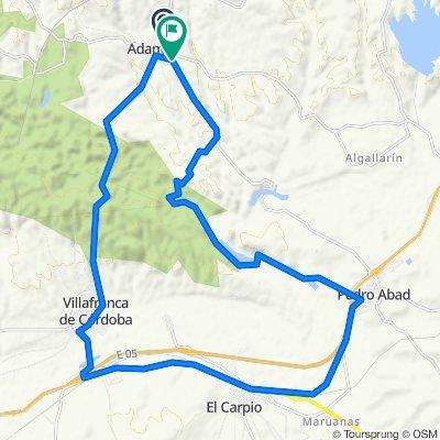 Cracking ride in Adamuz