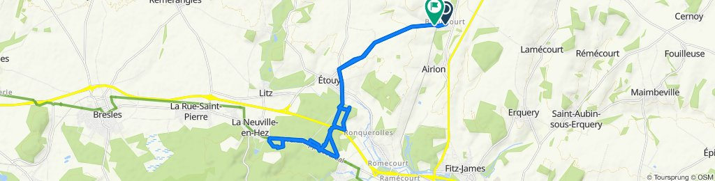 Easy ride in Avrechy