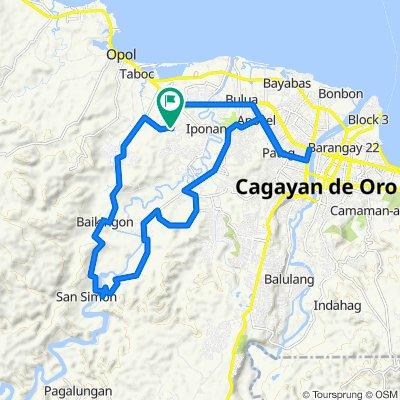 Slow ride in Cagayan de Oro City