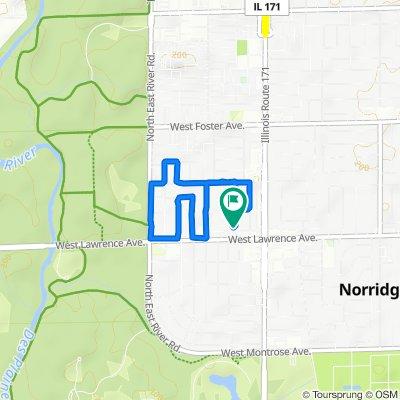 North Chester Avenue 4818, Norridge to North Chester Avenue 4818, Norridge
