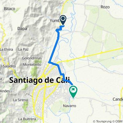 De Carrera 12c 22-42, Yumbo a Carrera 35c 136