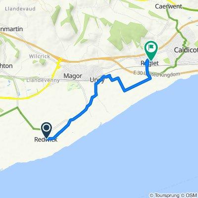 Slow ride in Caldicot