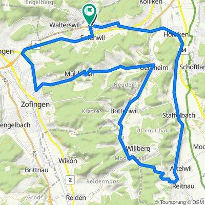 Emil-Frey-Strasse, Safenwil nach Emil-Frey-Strasse 2, Safenwil