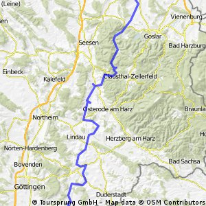 Pedalritter 4-Tages-Tour 2010 T4 CLONED FROM ROUTE 627411