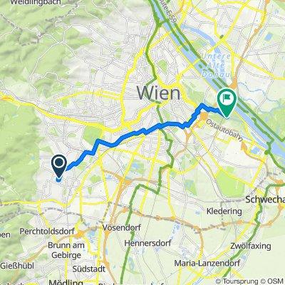 Heißgasse 56, Wien nach Freudenau 254, Wien