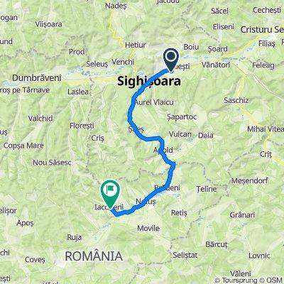 Strada Baraților 50, Sighișoara to DJ143 43, Iacobeni