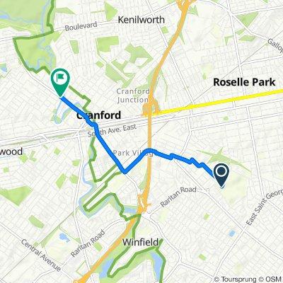 417 Raritan Rd, Roselle to 400 Springfield Ave, Cranford