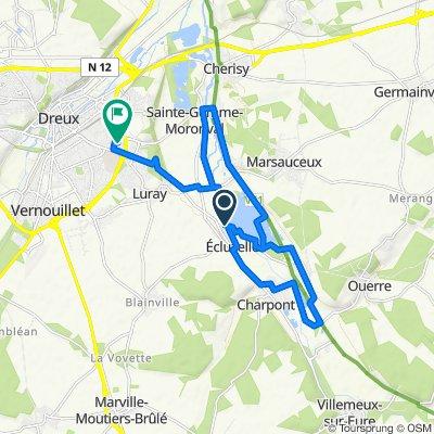 Moderate route in Mézières-en-Drouais