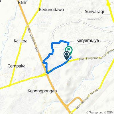 Route to Jalan Perjuangan No.48, Kecamatan Kesambi