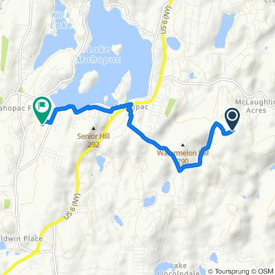 80 Hillside Trail, Mahopac to 425 Baldwin Place Rd, Mahopac