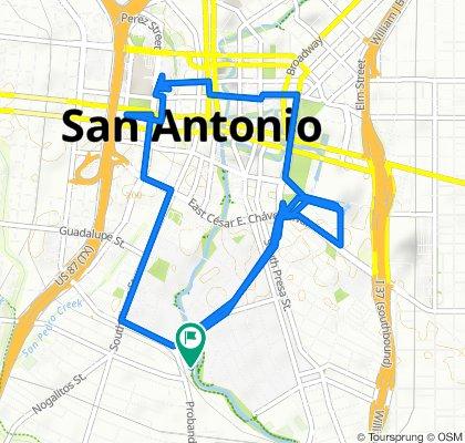 Easy ride in San Antonio