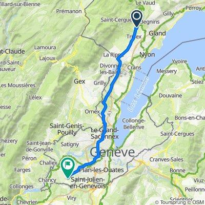 De Route de Trélex 31, Genolier à Route de Sézegnin, Laconnex