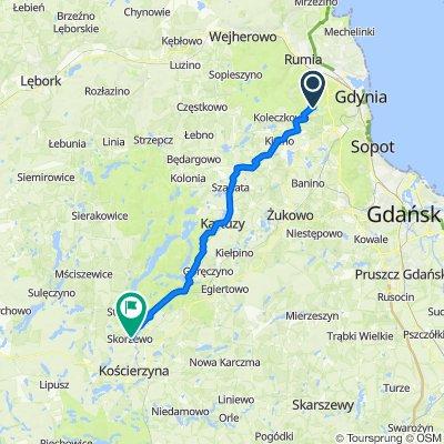 Jachtowa 13, Gdynia do Wąska 3, Skorzewo
