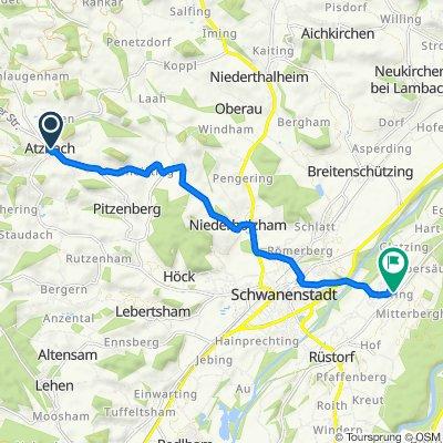 Dreschergasse 2, Atzbach nach Kaufing 27, Kaufing